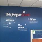 Misión Visión y Valores Despegar.com by estilovinilos